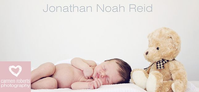 Jonathan Reid's baby shoot. Baby shoot ideas! Carmen Roberts Photography.