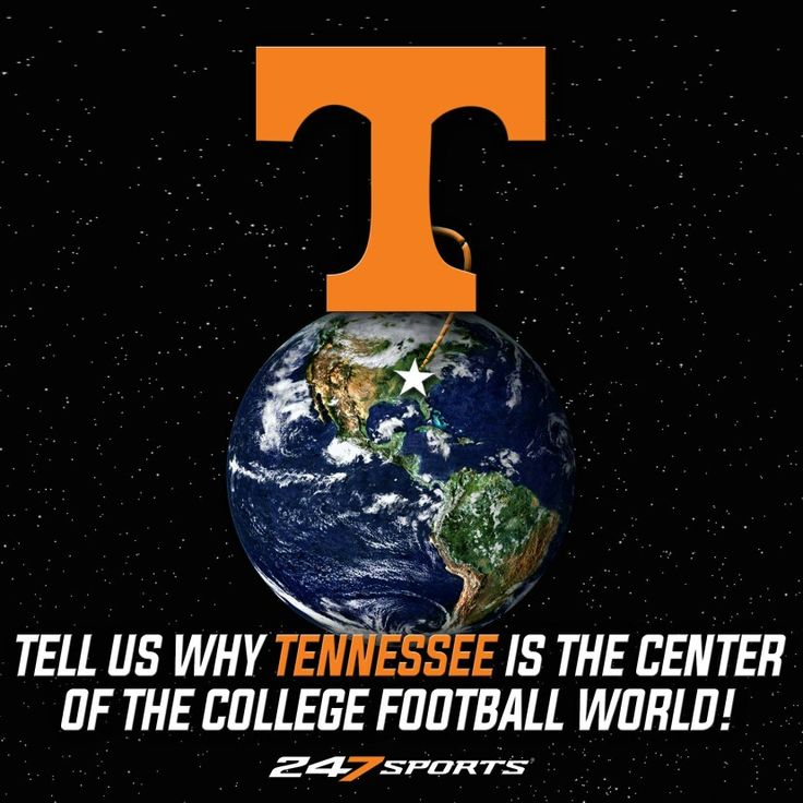 Because it's Tennessee,  Rocky Top,  built on heart & pure grit,  never count us out,  we'll tolerate your trash & prove you wrong,  we don't give up,  we're Neyland Stadium filled to the brim, the spirits of every great Vol still alive in the heart of The Vol Nation,  we're Tennessee.  --dfav