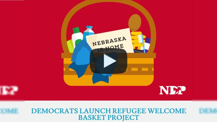 Nebraska Democrats include voter registration forms in 'refugee welcome baskets' Giving voter registration forms to refugees? Sketchy. 3/23/17