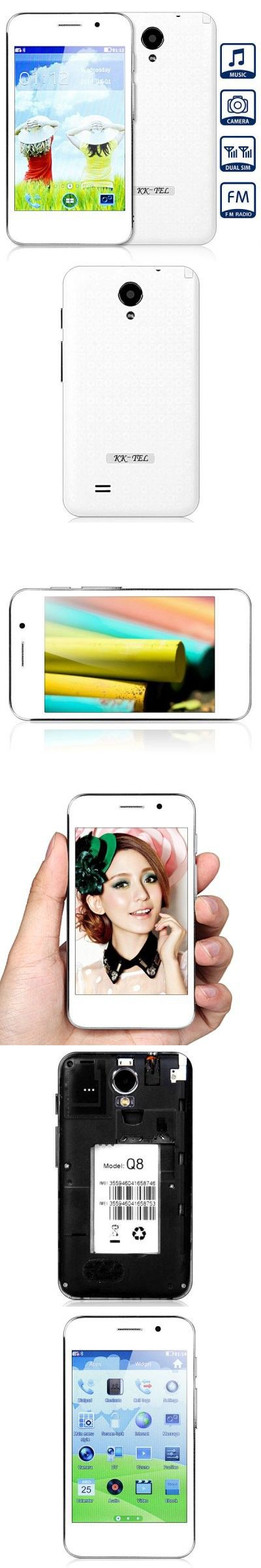 Q8 Dual Band Phone Dual SIM Camera 4.0 inch Capacitive Touch Screen Bluetooth
