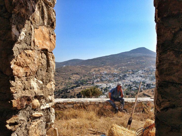 Paros farmer. Greece.