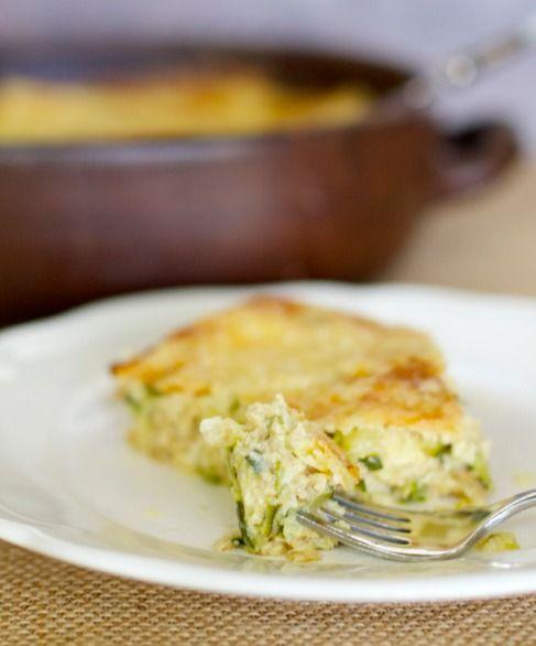 Pastel de Zapallos Italianos / Zucchini Casserole   En mi cocina hoy