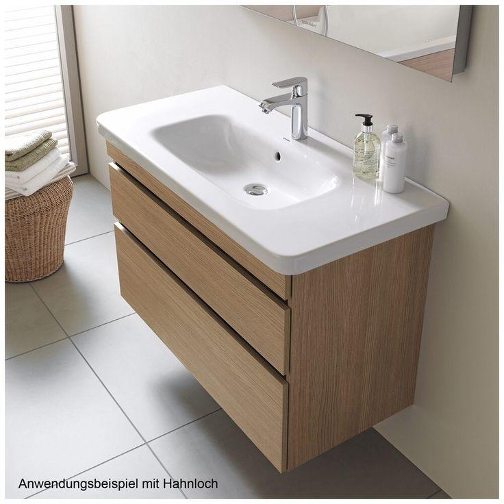 Duravit DuraStyle Möbelwaschtisch 100 cm, ohne Hahnloch 2320100060 - MEGABAD