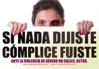 Por un mundo libre de violencia!