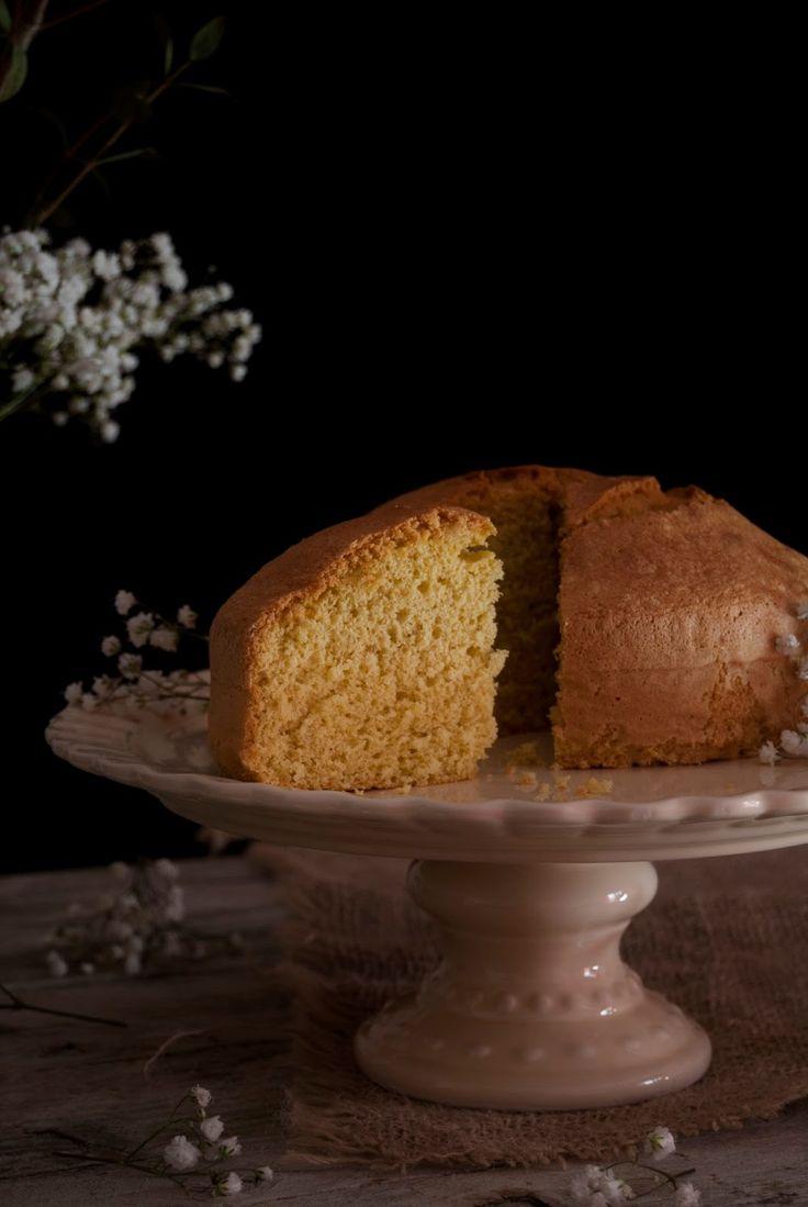La asaltante de dulces: Receta de bizcocho extra esponjoso de vainilla sin levadura/ No baking powder vanilla spongy cake recipe