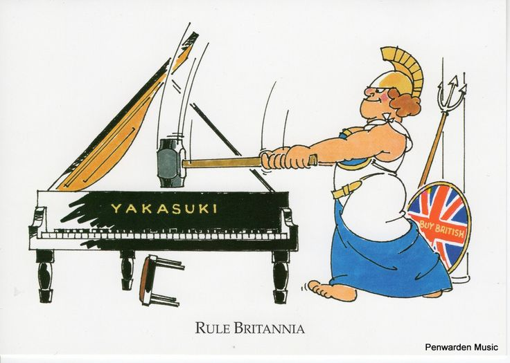 Joan Butler Classics Greeting Card - Rule Britannia