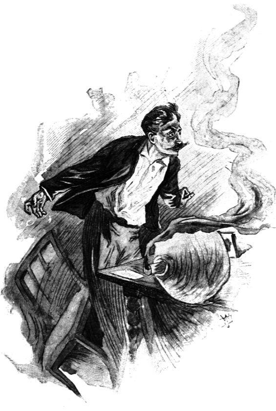 "Illustration by Julian-Damazy for ""The Horla"" by Guy de Maupassant"
