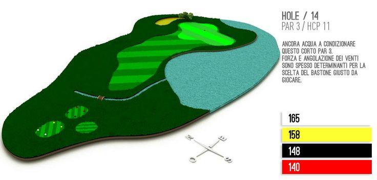 Hole 14 Golf Lignano