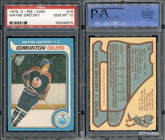 An excellent Wayne Gretzky RC card. Hard to find in a 10 grade