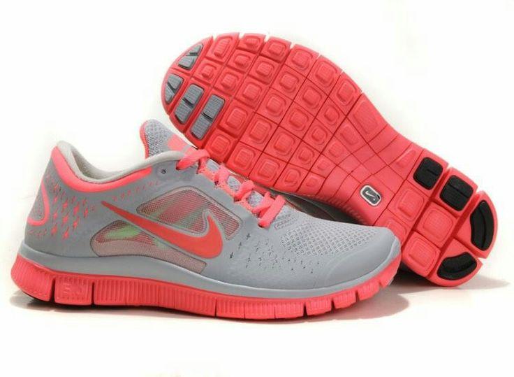2012 nike free run+ 3 womens shoes pinke silver discount coins