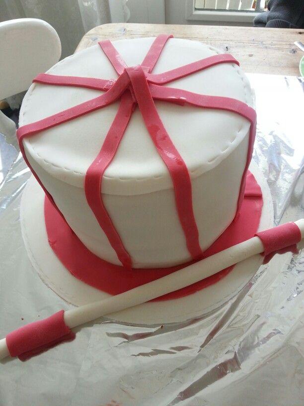 Hoge hoed taart