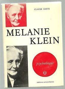 B 9-99/29532 - Mélanie Klein [Imagen de http://www.ebay.fr/itm/Claude-Geets-Melanie-KLEIN-eo-1971-/130883355948]