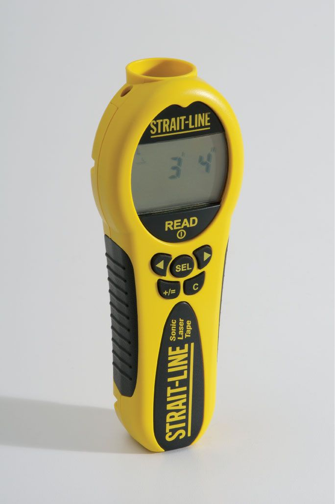 If he's not yet a Handyman, this Electronic Laser Measuring Device will start making him looking for projects to do just so he can use it.