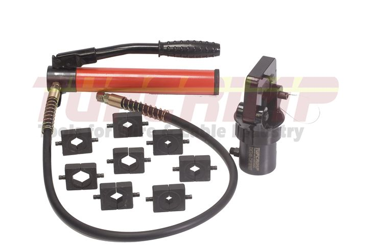 TUFCRIMP Crimping tool TC/HCT 400 S + Tc/ HCTS 180