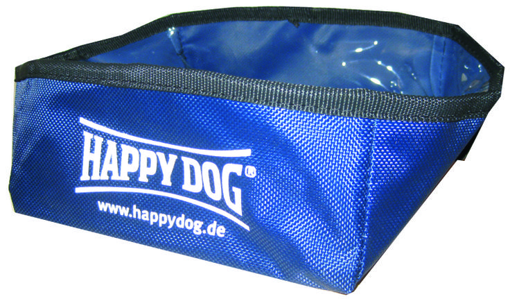 A Happy dog Faltnapf