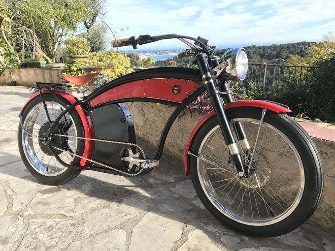 Lord Bike Vintage Electric Bike By Alexandre Mallier Kickstarter Vintage Bikes Electric Bike Bike