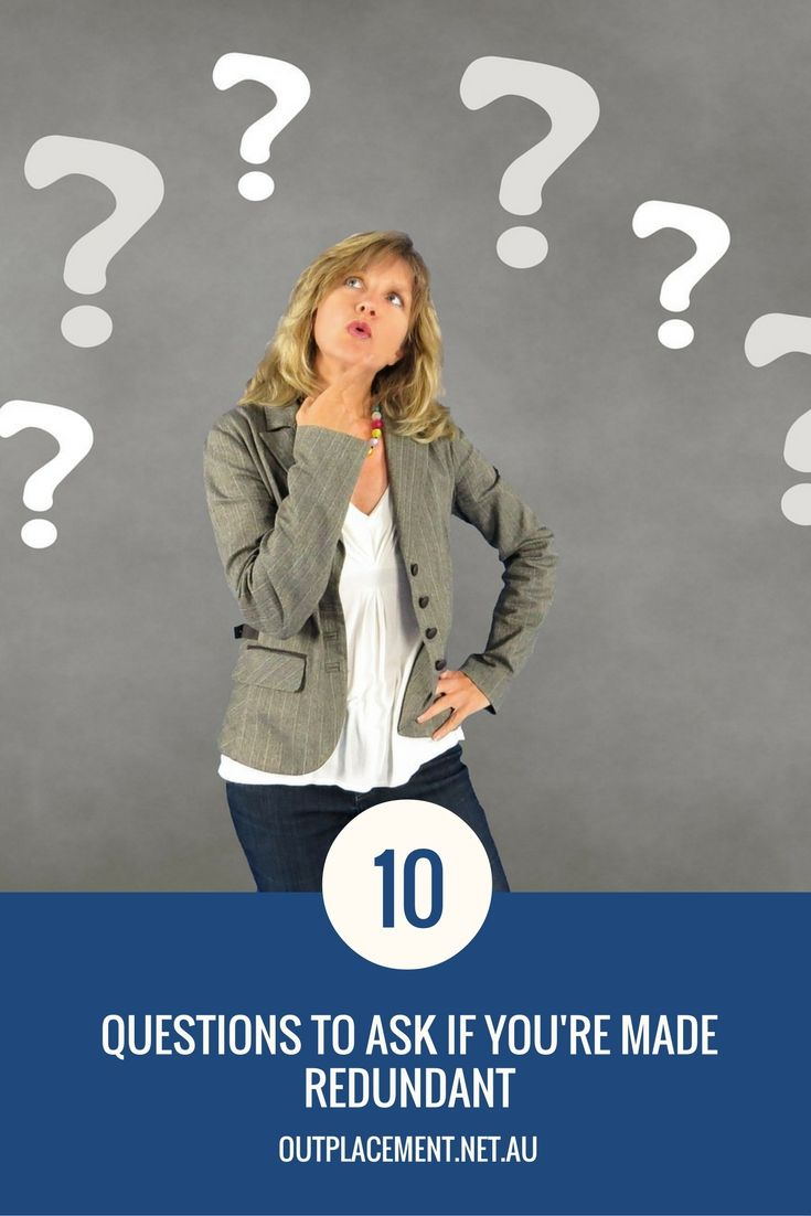 What should you ask if you're made redundant? 10 questions to ask if retrenched. More career advice from Glide Outplacement and Career Coaching.