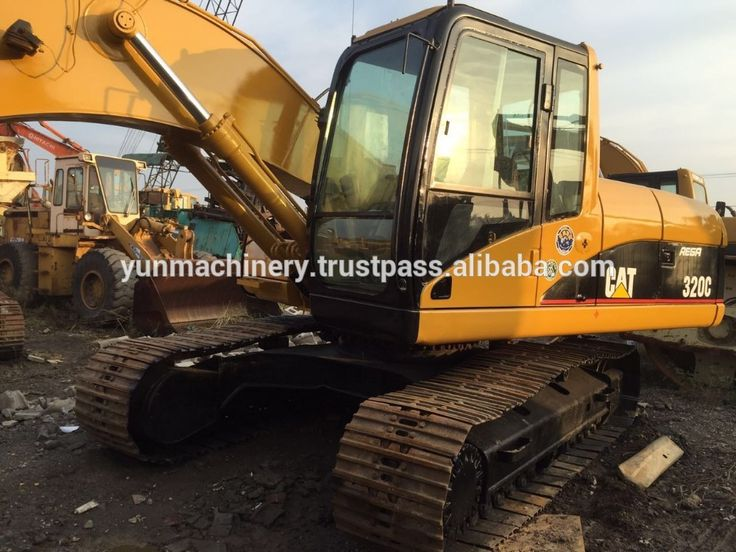Used Cheap Price CAT 320C Excavator For Sale
