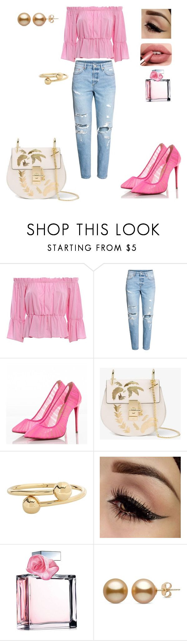 """""""Untitled #33"""" by dedic-elvira ❤ liked on Polyvore featuring Dondup, Christian Louboutin, Chloé, J.W. Anderson and Ralph Lauren"""