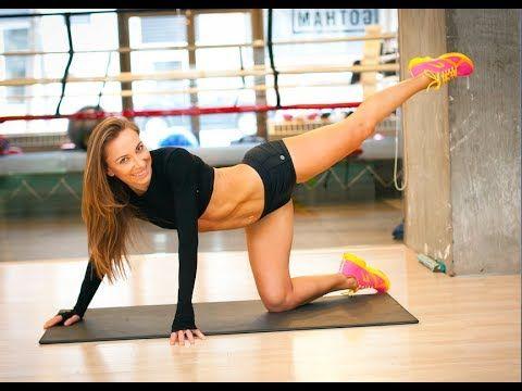 Ćwiczenia Sylwii Wiesenberg na seksowne nogi i pośladki [RUSZ SIĘ] - YouTube
