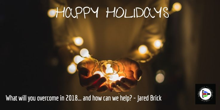 Happy Holidays! What will you overcome in 2018... and how can we help support you? @BHmediaCo #Create2018 #bhmediaco