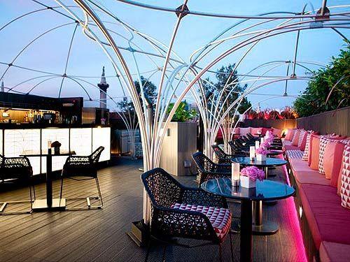 Top five rooftop bars in London