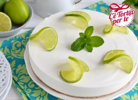 Cheesecake cocco e lime