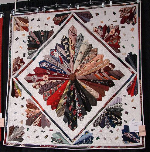 Necktie quilt | Flickr - Photo Sharing!