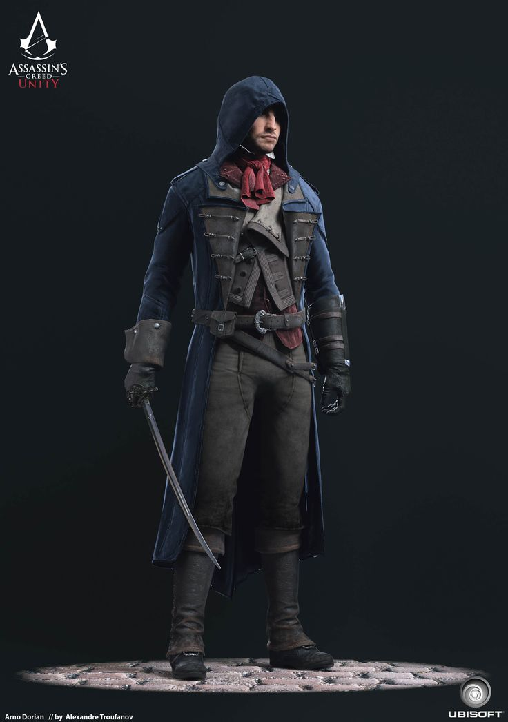 My contribution while on Assassins Creed Unity character team