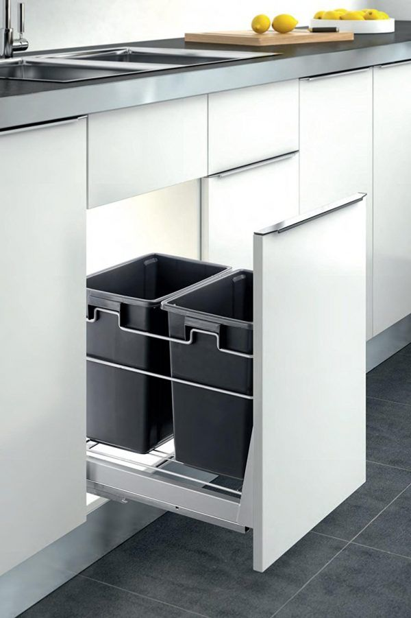 kitchen garbage can cabinet 25 best ideas about kitchen trash cans on 4903