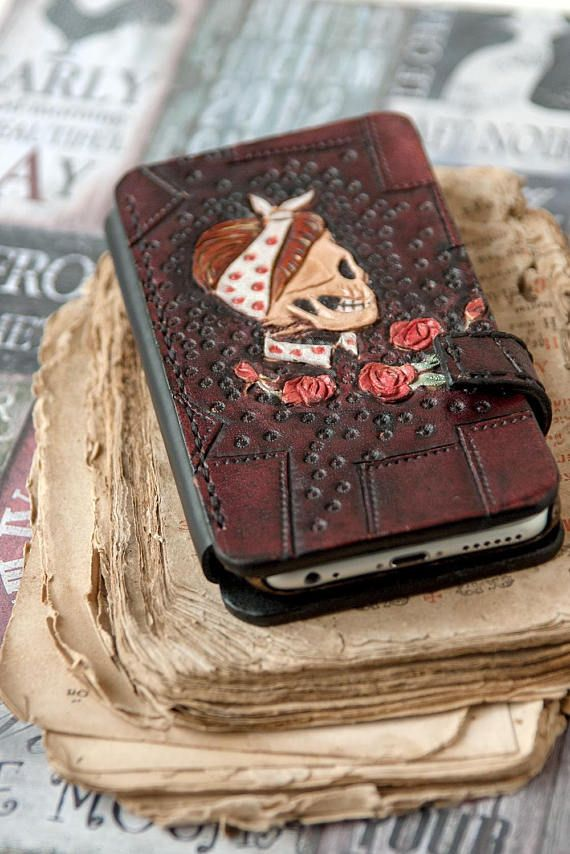 Leather iPhone 6 cover  Cool iPhone 6 case  Women iPhone 6