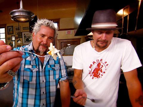 Diners, Drive-Ins and Dives Kid Rock's Detroit Tour Highlight Videos: Food Network - FoodNetwork.com