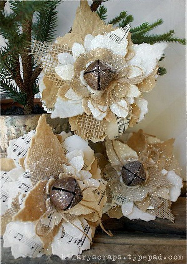 Best 25 Rustic Christmas Ornaments Ideas On Pinterest