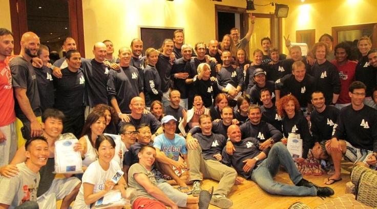 Instructores Apnea Academy 2012