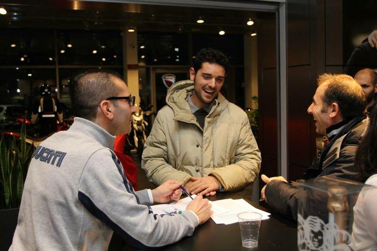 Apertura iscrizioni 2014 per il DOC Ducati Divina... Buona la prima!