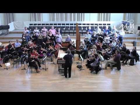 AAM - Bach Matthäus-Passion in rehearsal - YouTube