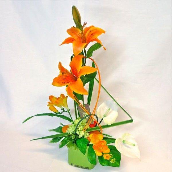 composition florale  VANNES Composition florale artificielle moderne ...