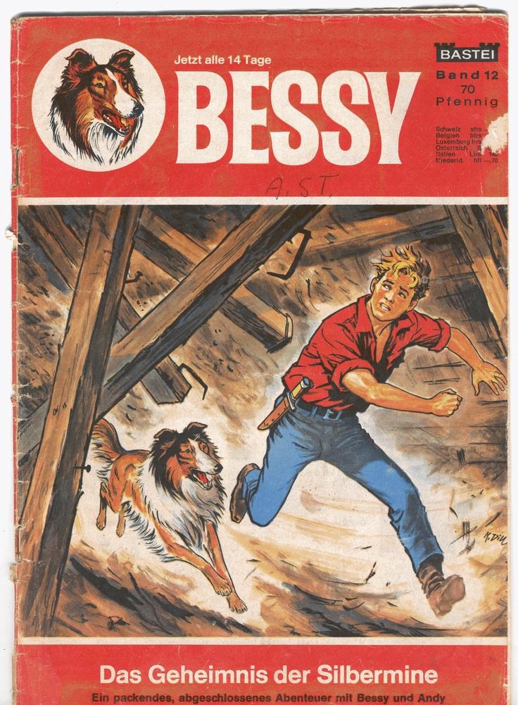 ©Studio Vandersteen/Bastei  De Duitse schilder/tekenaar Karl Dill maakte vele schitterende covers voor de Bessy reeks van Studio Vandersteen.