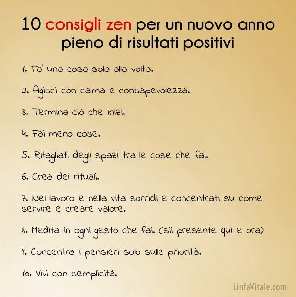 10 consigli zen per un nuovo anno pieno di risultati positivi