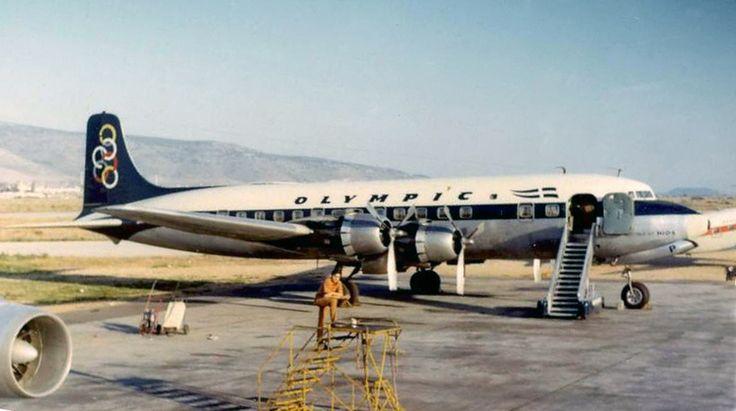 Olympic Airways Douglas DC-6B (Island of Chios) [SX-DAP]