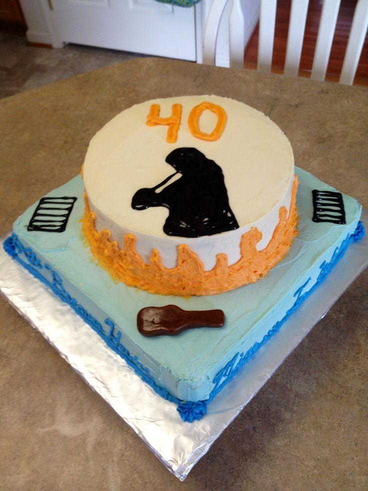 Johnny Cash Birthday Cake