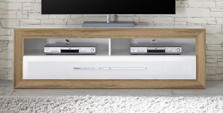 Tv-Unterteil Weiss/ Balkeneiche Mit Gerätefach Woody 16-00793 Holz Modern Jetzt bestellen unter: https://moebel.ladendirekt.de/wohnzimmer/tv-hifi-moebel/tv-lowboards/?uid=dc689023-11d4-5574-883f-7b7559a9cf68&utm_source=pinterest&utm_medium=pin&utm_campaign=boards #tvlowboards #wohnzimmer #tvhifimoebel