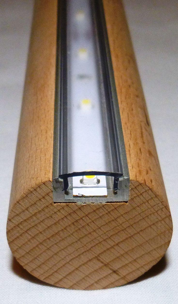 LED Handlauf Buche 1 Mtr ca. 60 SMD´s ( LED/SMD )