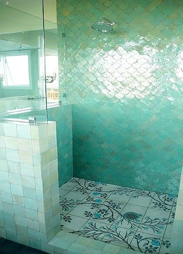 Mermaid Tile This Will Be In My Bathroom Mermaid Tile