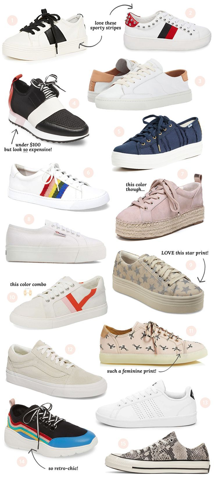 Chic Spring Sneaker Guide   The
