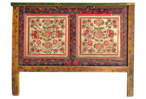 Romanian Folk Art Headboard, Twin on OneKingsLane.com