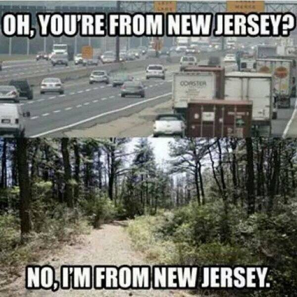 New Jersey.. This is true of my previous encounters. No I live where there is lots of open preserved green space ~