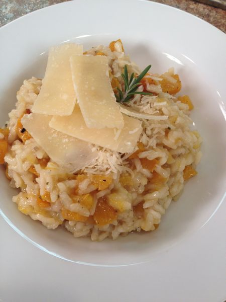 cushaw squash | adore making risotto and this is the perfect fall version. It's ...