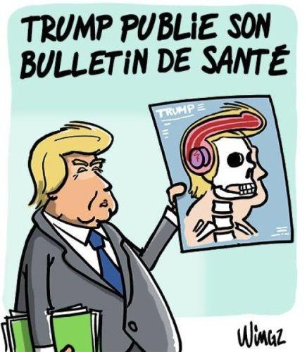 Trump publie son bulletin de santé