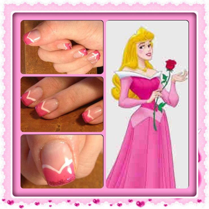 Sleeping Beauty Nails: 17 Best Images About Sleeping Beauty On Pinterest